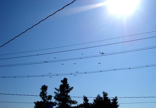 2007航空祭異種大編隊