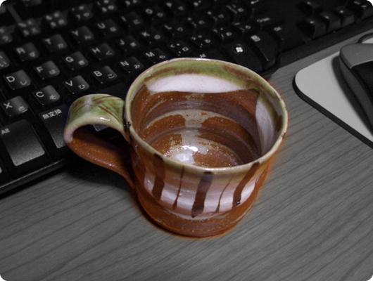 コーヒーを飲むのにちょうど良いカップ