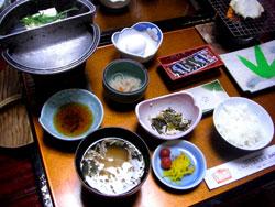 八千代の朝食