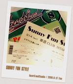 SunnyFunStyleをききにいってきました