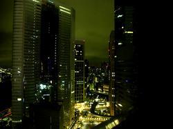 三井ガーデンホテル銀座プレミアからの夜景