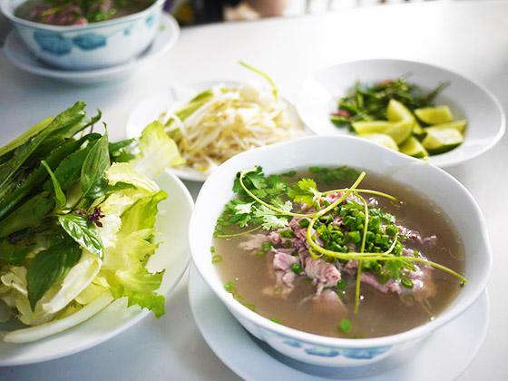 フォー・ボー・タイと愉快な野菜たち