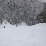 流葉国設ゲレンデ~雪の流れに身をまかせ~