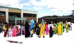 チャオ御岳スノーリゾートGW春スキー2008