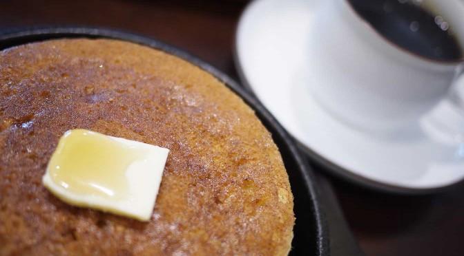 鉄板ふわふわホットケーキがオススメの「敷島珈琲店」