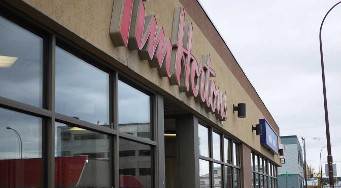 カナダ最大のファーストフードチェーン店「Tim Hortons(ティム・ホートン)」でモーニング